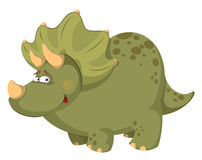 Gruby dinosaur Obrazy Stock