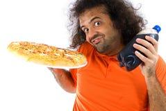 gruby jedzenie Zdjęcie Stock