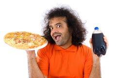 gruby jedzenie Zdjęcia Stock