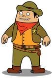 Gruby Kowboj ilustracji