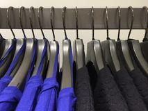 Grucce per vestiti Fotografie Stock
