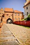 Grudziadz of Gaudenz - Teutonic Waterpoort stock fotografie