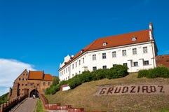Grudziadz Spichrze,波兰 免版税库存照片