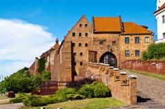 Grudziadz Spichrze, Polônia Imagem de Stock Royalty Free