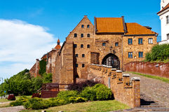 Grudziadz Spichrze, Poland Royalty Free Stock Image