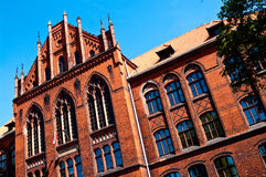Grudziadz University, Poland Royalty Free Stock Photos