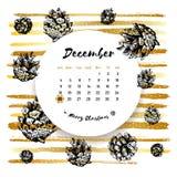 Grudzień 25 kalendarzowy, Wesoło kartka bożonarodzeniowa, ręka rysujący projektów elementy royalty ilustracja