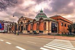 Grudzień 05, 2016: Gliptoteka budynek w Kopenhaga, Dani Zdjęcie Stock