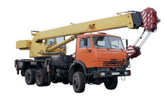 Grue de camion Photo stock