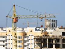 Grue de construction. Photographie stock libre de droits