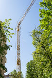 Grue de construction Photos libres de droits