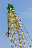Grue de construction. Images stock