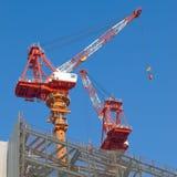 Grue de construction Images libres de droits