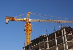 Grue de construction Images stock