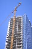 Grue de construction Image stock