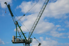 Grue de construction, ville de Londres Image stock