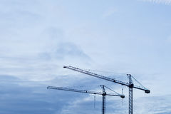 Grue de Contruction Images libres de droits
