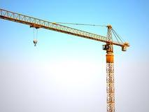 Grue en métal de construction Image libre de droits