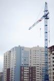 Grue et construction à tour Photos libres de droits