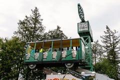 Grue excentrique au parc à thème de terre de Thomas Photographie stock libre de droits