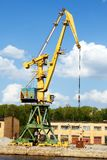 Grue fonctionnante Photographie stock