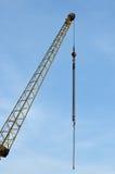 Grue pour la construction Photo stock