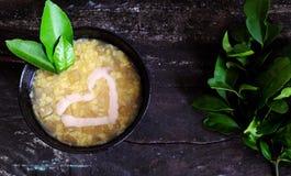 Gruel грейпфрута сладостный, въетнамский сладостный суп Стоковое фото RF
