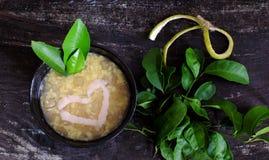 Gruel грейпфрута сладостный, въетнамский сладостный суп Стоковые Изображения