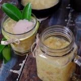 Gruel dolce del pompelmo, minestra dolce vietnamita immagine stock libera da diritti