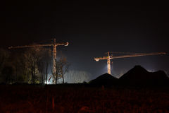 Grues Images libres de droits