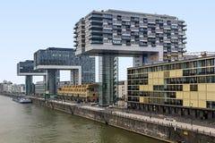 Grues de Chambre à Cologne Photographie stock libre de droits