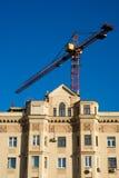 Grues et construction Photo libre de droits