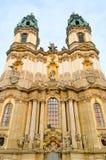 Gruessau abbey Stock Photo