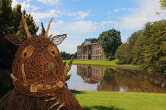 Gruffalo Outside Stately Home Royalty Free Stock Images