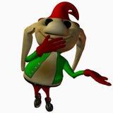 Gruffles the Toon Elf Stock Photo
