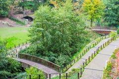 Gruga park Royalty Free Stock Photography