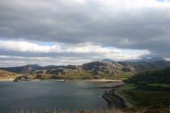Gruinard Bay. Looking east over Gruinard Bay, west of Ullapool, Scotland Royalty Free Stock Photos