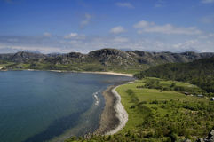 Gruinard Bay Scotland. Northern Highlands stock photography