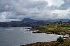 Gruinard-Bucht, westlich Ullapool, Schottland lizenzfreies stockfoto