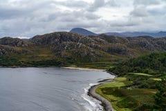 Gruinard-Bucht, westlich Ullapool, Schottland stockbild