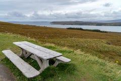 Gruinard-Bucht, westlich Ullapool, Schottland lizenzfreie stockfotos