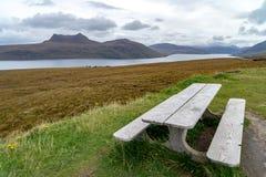 Gruinard-Bucht, westlich Ullapool, Schottland lizenzfreie stockbilder