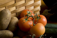 grula pomidory Obraz Royalty Free