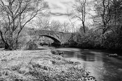 Gruline Stone Bridge Stock Images