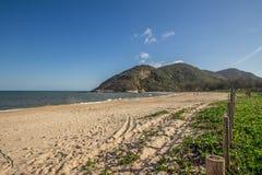 Grumari plaża w Rio De Janeiro obrazy royalty free