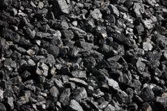 Grumi del carbone Fotografia Stock