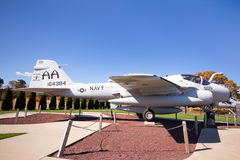 Grumman A-6 inkräktareflygplan Royaltyfri Fotografi