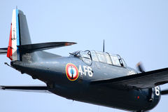 Grumman Avenger - at La Comina 100 anniversary Royalty Free Stock Photo