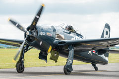 Grumman Bearcat vintage aircraft Royalty Free Stock Images