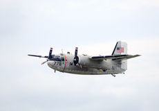 Grumman C-1A Handlowa Marynarki wojennej samolot Obrazy Stock